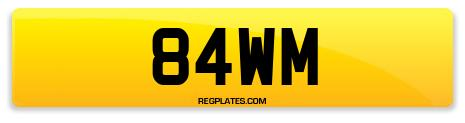 Registration 84WM