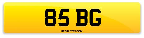 Registration 85 BG
