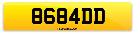 Registration 8684DD