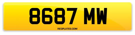 Registration 8687 MW
