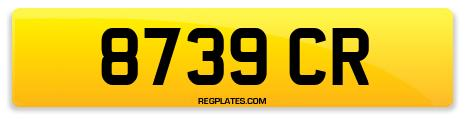 Registration 8739 CR