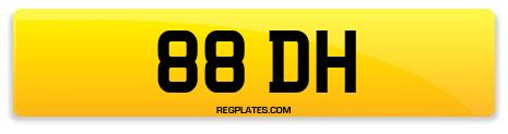 Registration 88 DH