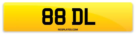 Registration 88 DL
