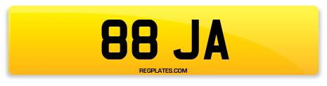 Registration 88 JA