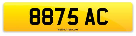 Registration 8875 AC