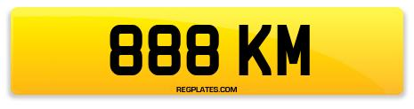 Registration 888 KM