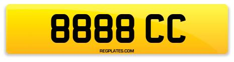 Registration 8888 CC