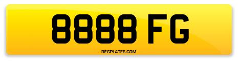 Registration 8888 FG