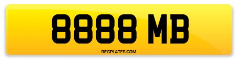 Registration 8888 MB