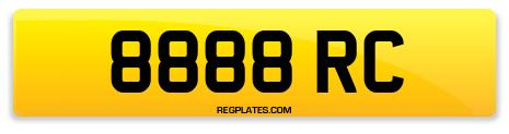 Registration 8888 RC