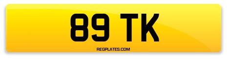 Registration 89 TK