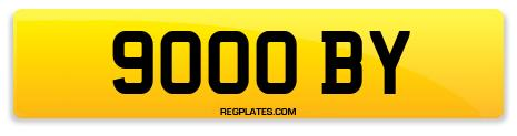 Registration 9000 BY