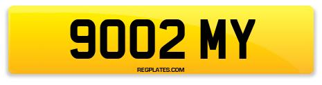 Registration 9002 MY