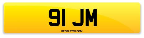 Registration 91 JM
