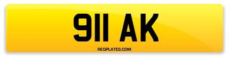 Registration 911 AK