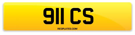 Registration 911 CS