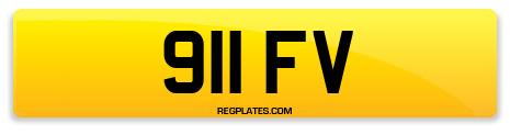 Registration 911 FV