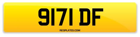 Registration 9171 DF