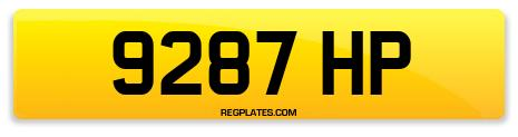Registration 9287 HP