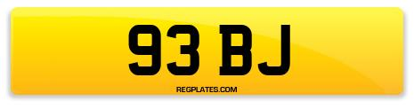 Registration 93 BJ