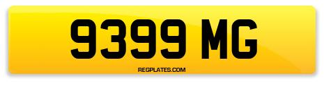 Registration 9399 MG