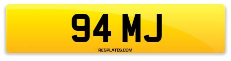 Registration 94 MJ