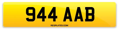Registration 944 AAB