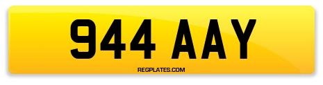 Registration 944 AAY