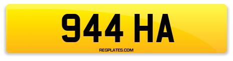 Registration 944 HA