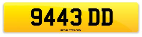 Registration 9443 DD