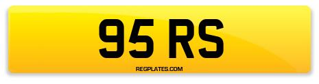 Registration 95 RS