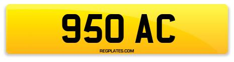 Registration 950 AC