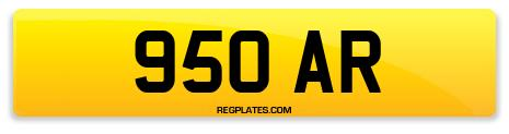 Registration 950 AR