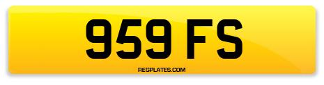 Registration 959 FS