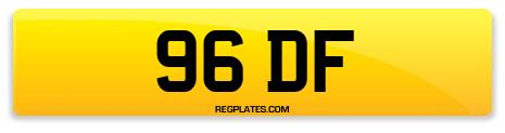 Registration 96 DF