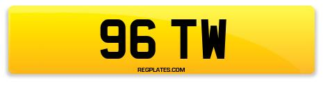 Registration 96 TW