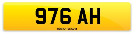 Registration 976 AH