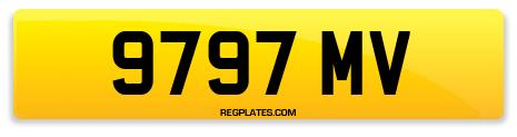 Registration 9797 MV
