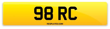 Registration 98 RC
