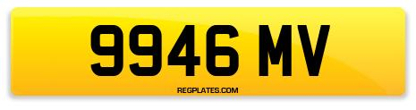 Registration 9946 MV