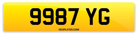 Registration 9987 YG
