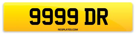 Registration 9999 DR
