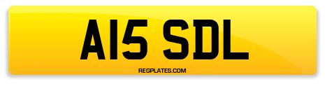 Registration A15 SDL