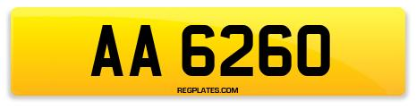 Registration AA 6260