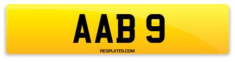 Registration AAB 9
