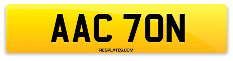 Registration AAC 70N