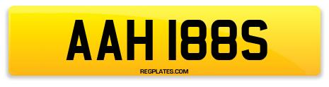 Registration AAH 188S
