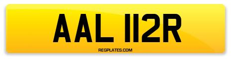 Registration AAL 112R