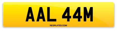 Registration AAL 44M