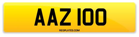 Registration AAZ 100